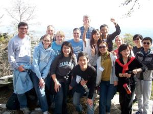 The UNC group at last year's discovery retreat!