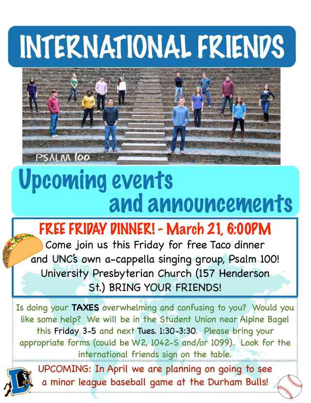 Friday dinner this week at 6pm!